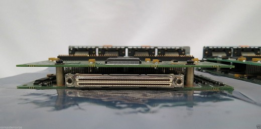 and the CONNECTOR in the rear of the card
