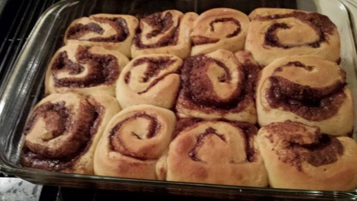Grab any cinnamon roll recipe you like, or you can use ones straight from a can.