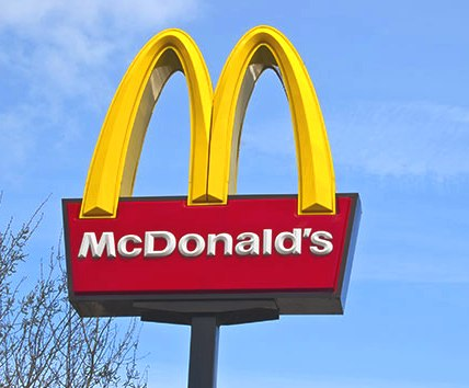 Kids can often identify the golden arches before they learn to count.