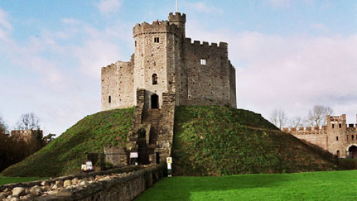 Would you like to have this in your back garden? Often whole neighbourhoods were levelled to make way for a Norman lord's castle