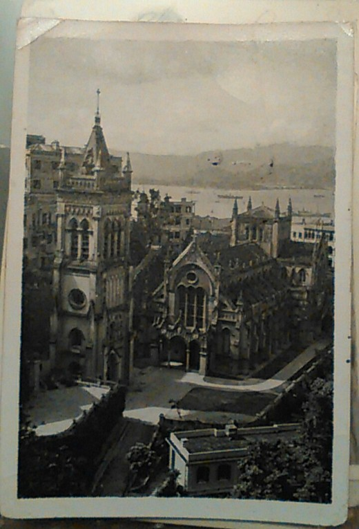 St. Mary's Cathedral, Hong Kong, 1946