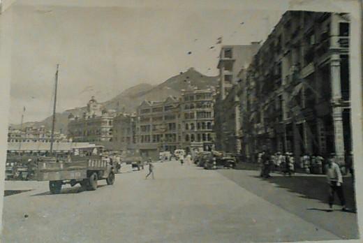 Water front, Hong Kong, 1946