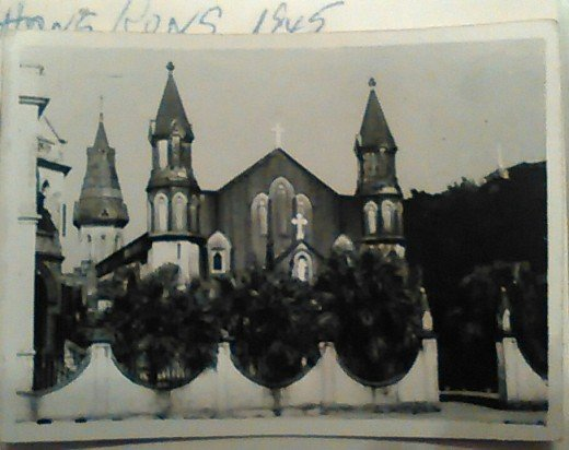Church of the Holy Rosary (?), Hong Kong, 1946