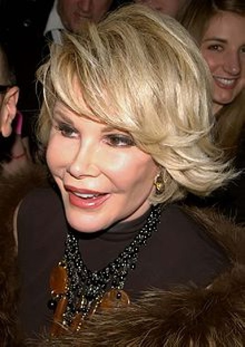 The late Joan Rivers