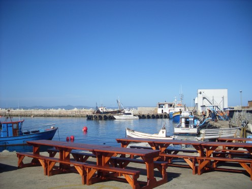 Hermanus Harbour.