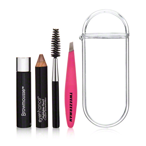 Tweezerman Brow Rescue Kit. I don't know what makes Tweezerman tweezers so much better than all others, but trust me, it's legit.