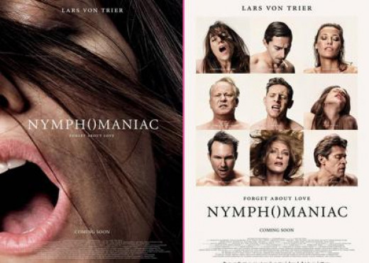 A promotional poster for the movie Nymphomaniac