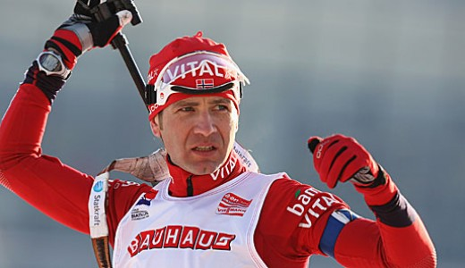 Ole Einar Bjorndalen, the Norwegian biathlete.