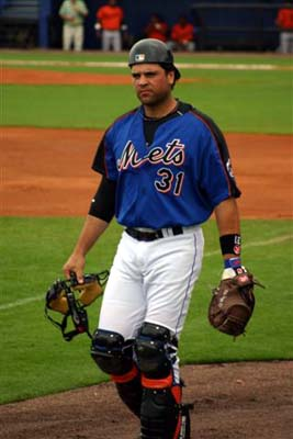 Mike Piazza's 427 lifetime homeruns is the most of all-time from a catcher.