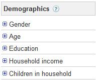 Demographic Filter