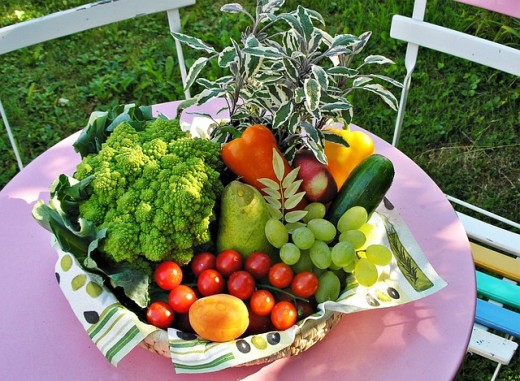 Fruits and vegetables - CC0 1.0 Universal