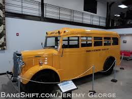 There's nothing like some great jokes told in an early schoolbus museum