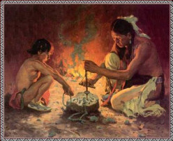 Cherokee Legends: The First Fire