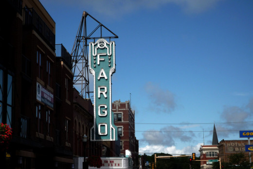 The city of Fargo, ND