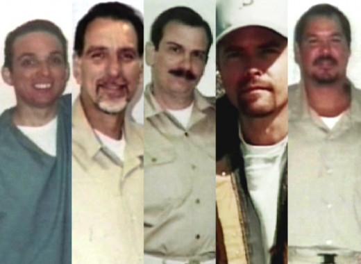 The Cuban Five: Antonio Guerrero, René González, Fernando González, Gerardo Hernández and Ramón Labañino