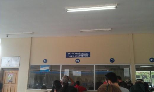 Nicaragua Departure Office