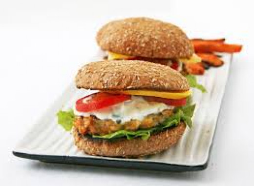 Delicious Turkey Burgers. Turkey Burgers Can Be Really Delicious And They Are Good For You.