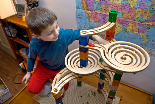 Quadrilla marble run