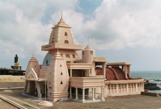 View of Gandhi memorial