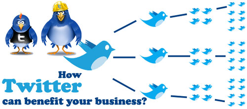 colorful diagram showcasing Twitter for business and its impact and influence upon your business