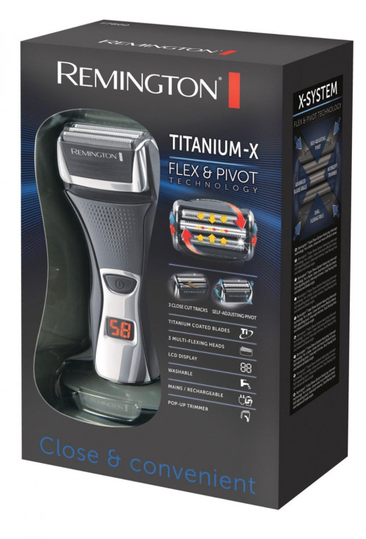 Remington F7800 shaver
