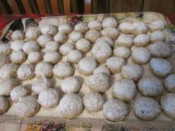 Walnut Butter Ball Cookies