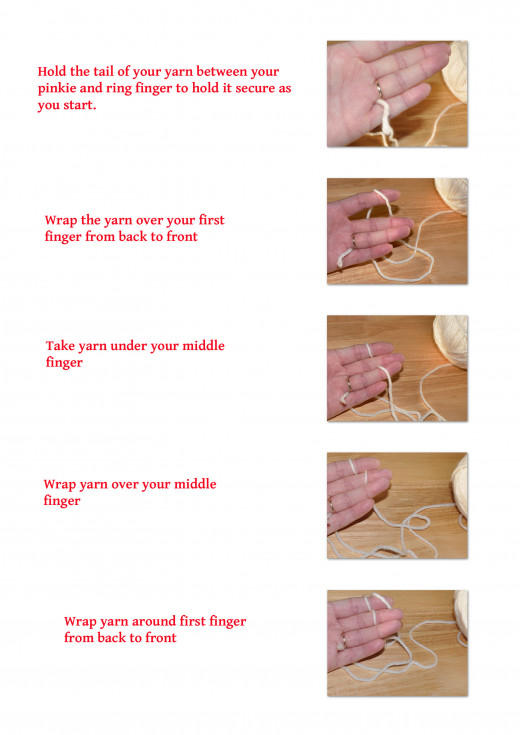 how to make a cord with finger knitting part 1