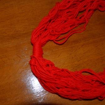 wrap to finish braid necklace