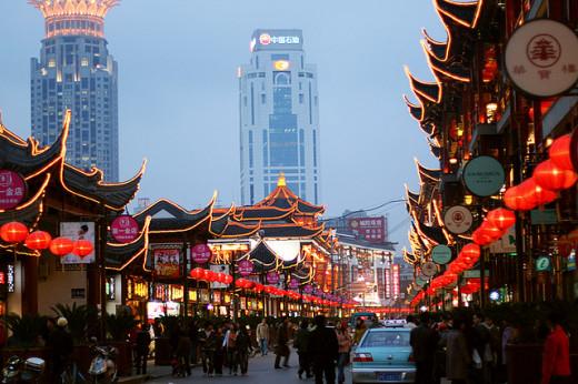 Yuyuan shopping area