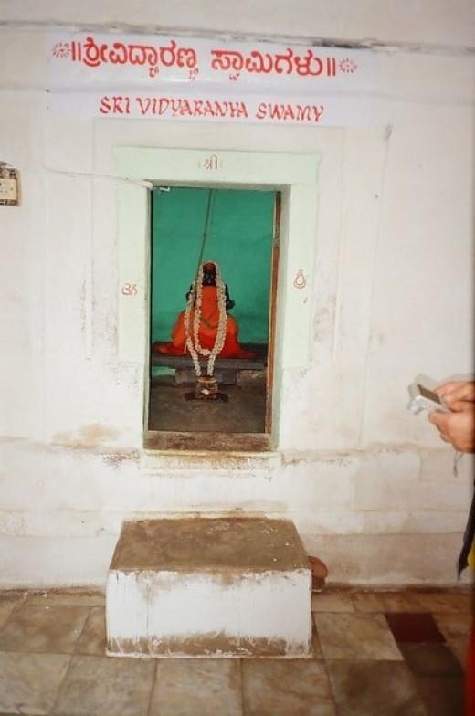 Sage Mahadeva's Tomb In Virupaksha Temple, Hampi