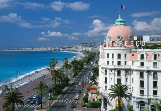 Promenade Des Anglais in Nice is a Beautiful Place to Visit Along The French Riviera