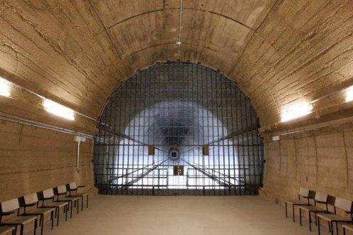 Sturdy Tunnel leading into the Bunker Complex