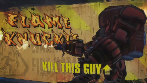 The first boss of the Borderlands Presequel game is so easy.