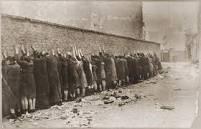 Warsaw Ghetto execution wall.