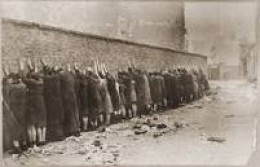 Warsaw Ghetto execution wall.
