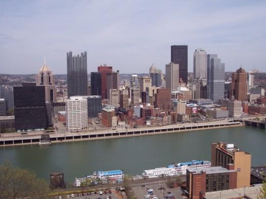 Gateway clipper fleet in Pittsburgh