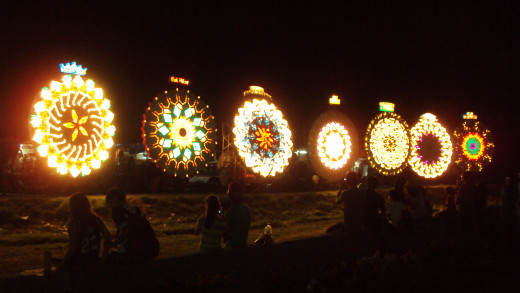 The Giant Lantern Festival in San Fernando City, the Christmas capital of the Philippines.