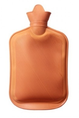 This is a hot water bottle.  You don't see these around anymore!