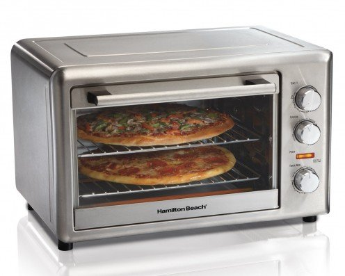 Oven for roasting meats, pizza, bread, cookies and baked potatoes