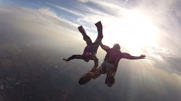 Skydiving lessons make a fun gift if the receiver is a daredevil!