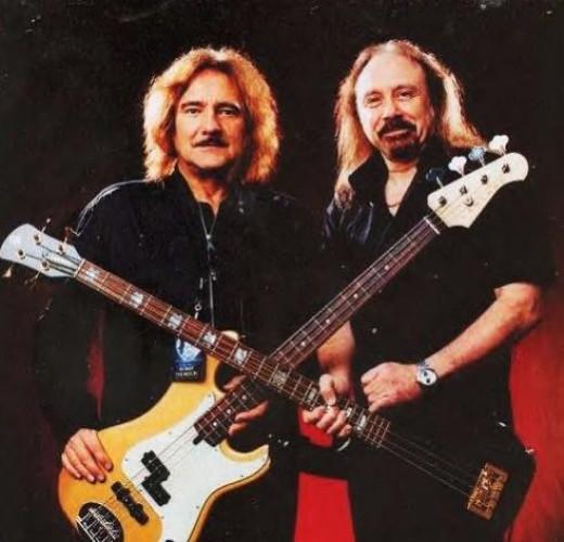 Two legends of Rock Bass - Geezer Butler of Black Sabbath and Ian Hill of Judas Priest