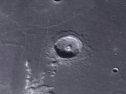 The crater Plinius