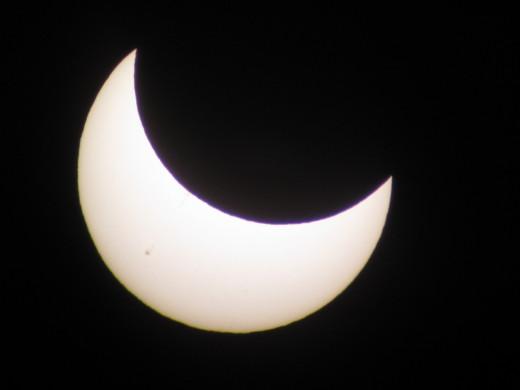 Solar Eclipse: 7:05 PM