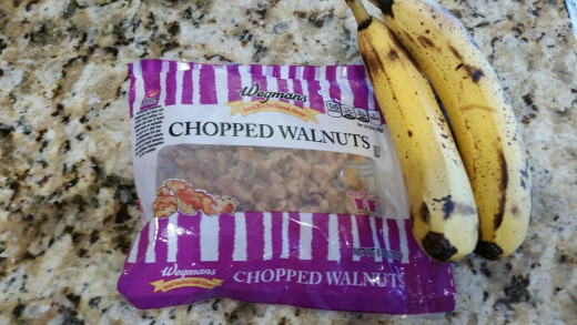 Banana Walnut French Toast Ingredients