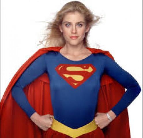 Helen Slater who played Supergirl