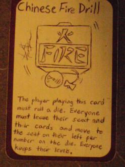 Custom Card Ideas: Chinese Fire Drill