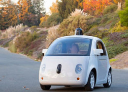 This is the real Google car that would be made by Google with electric motor and top speed of 35 mph. No human needed.