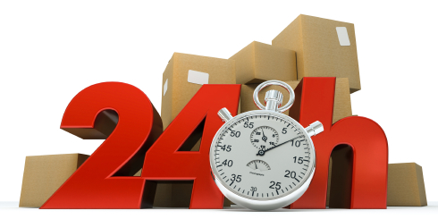 Express shipping is a common upsell service in online point of purchase promotions.