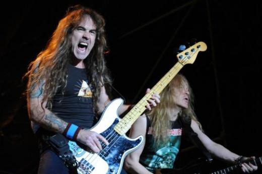 Bassist extraordinaire. Steve Harris of Iron Maiden