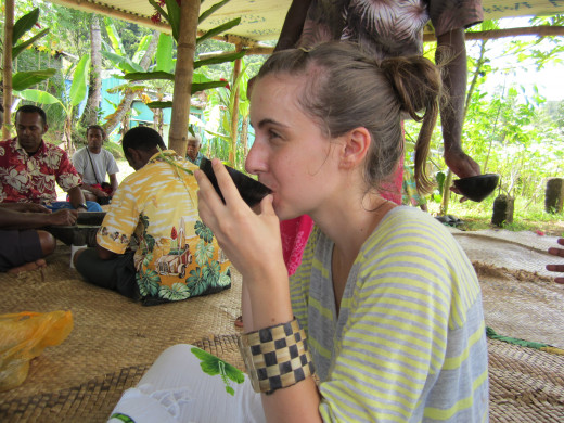 if offered kava, it is a good idea to accept it graciously